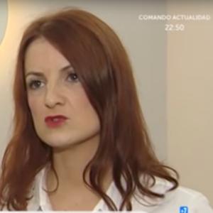 pilar conde directora de clinicas origen y psicologa hablando en la televisión tve la 1 española sobre la depresión en la mujer