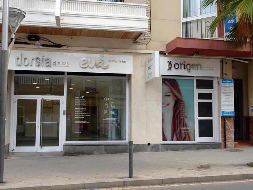 Clínica Origen en Torrevieja